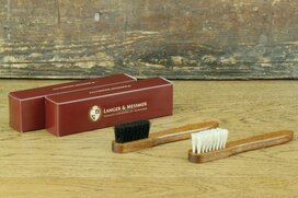Langer & Messmer Set of 2 Horsehair Welt Brushes
