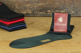 Langer & Messmer Knee-Length Socks Filoscozia Green UK...