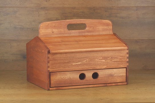 Langer & Messmer Wooden Valet Box Heidelberg (Without Contents)