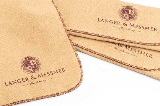 Langer & Messmer Set of 3 Cotton Polishing and Application Cloths