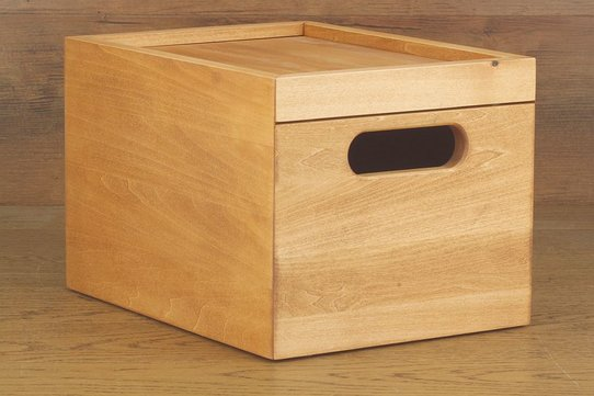 Langer & Messmer Wooden Valet Box Freiburg (With Contents)