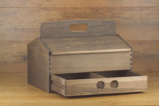 Langer & Messmer Wooden Valet Box Heidelberg (With Contents)