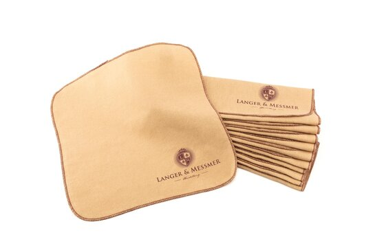 Langer & Messmer Set of 10 Cotton Polishing and Application Cloths