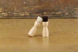 Burgol Horsehair Application Brush