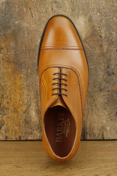 Barker Leeds Tan Goodyear Welted