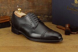 Loake Derwent Black Goodyear Welted