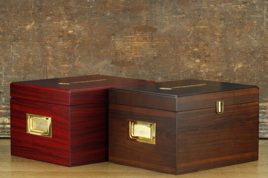 Langer & Messmer Wooden Valet Box Munich (With Contents)