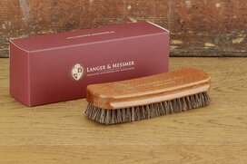 Langer & Messmer Dust & Cleaning Brush 17mm Brown/Grey...