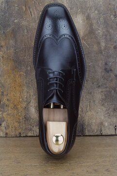 Barker Jordon Black Goodyear Welted