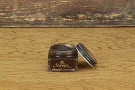 SAPHIR Shoe Cream 75ml Parisian Brown