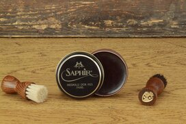 SAPHIR Polishing Wax 50ml Tobacco
