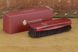 Langer & Messmer Exclusive Horsehair Polishing Brush...