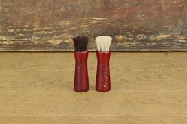 Langer & Messmer Horsehair Jar Brush Bordeaux