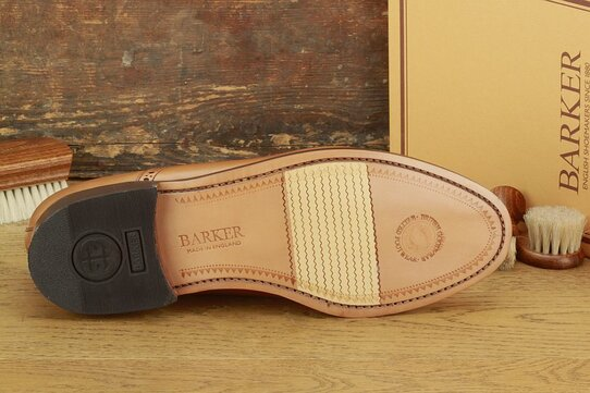 Barker Southampton Tan Goodyear Welted