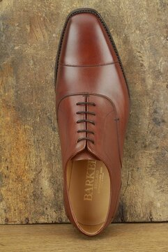 Barker Liam Brown Goodyear Welted Rubber Soles