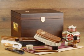 Langer & Messmer Wooden Valet Box Munich (With Contents)...