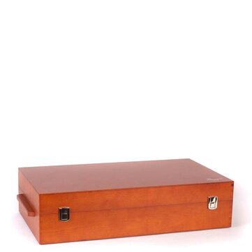 Burgol Wooden Valet Box (With Contents)