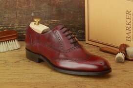 Barker Valiant Burgundy Goodyear Welted