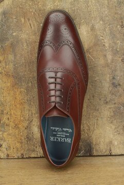 Barker Valiant Chestnut Goodyear Welted