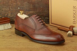 Barker Valiant Nut Brown Goodyear Welted