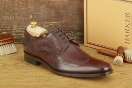 Barker Pitt Dark Brown Goodyear Welted