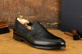 Loake Anson Black Goodyear Welted
